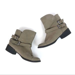 [Rocket Dog] Taupe Brown Ankle Boot